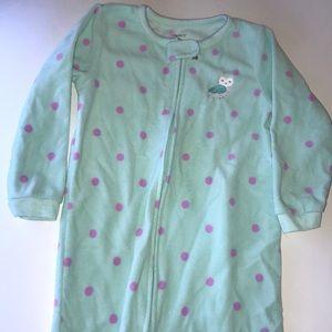 Carter's Zip-up Pajamas